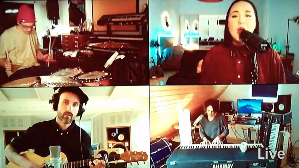 #StayOn-Konzert Band